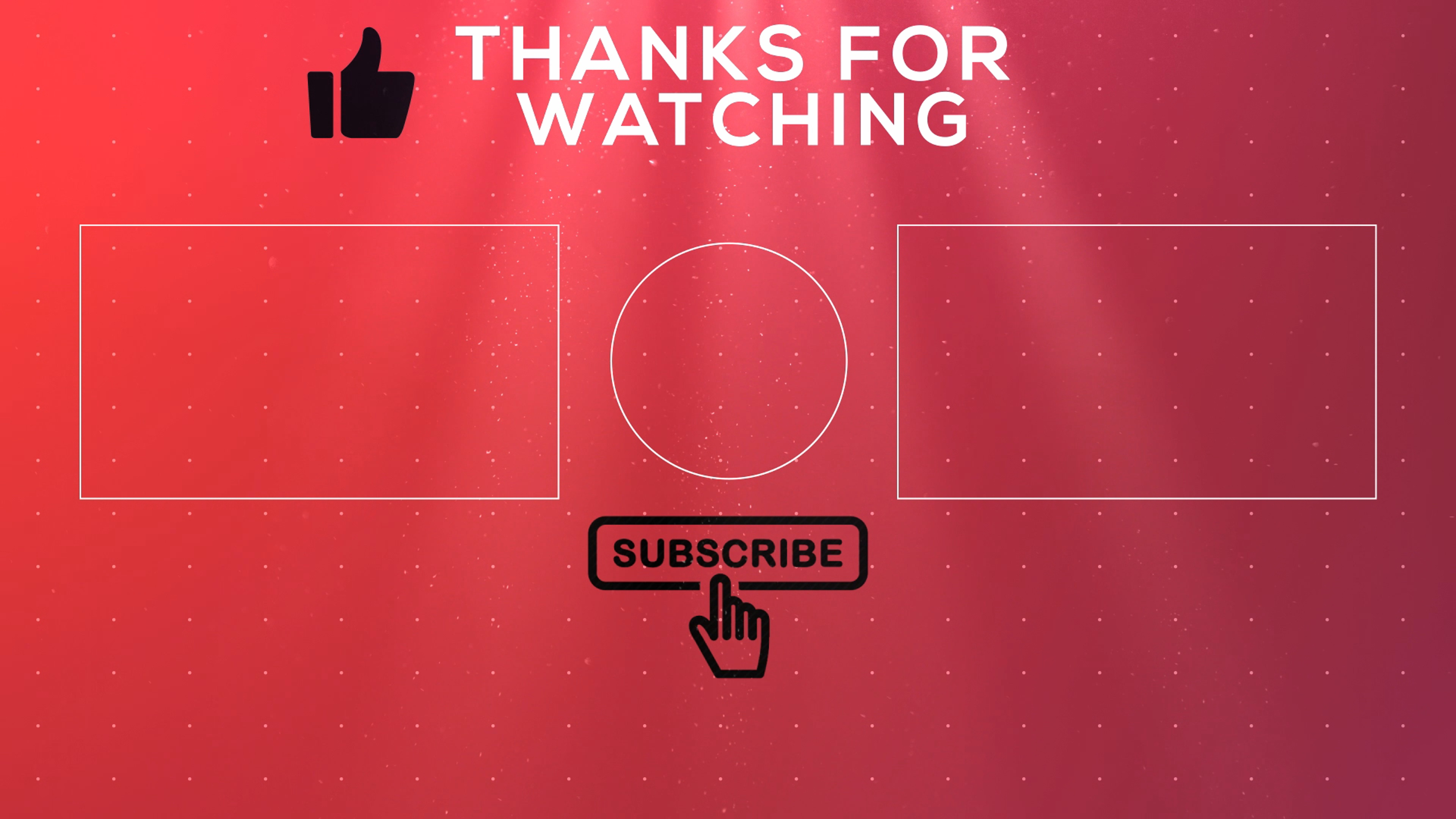 Outro Template | Free 2d Outro Template 11 Endscreen No Text Rkmfx